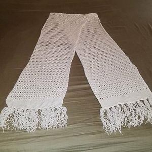 Cream knitted Merona Scarf